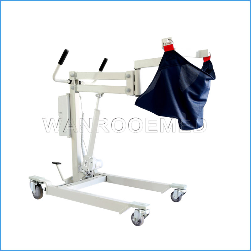DG204 Aluminum Medical Folding Patient Lift With Electric Lifting