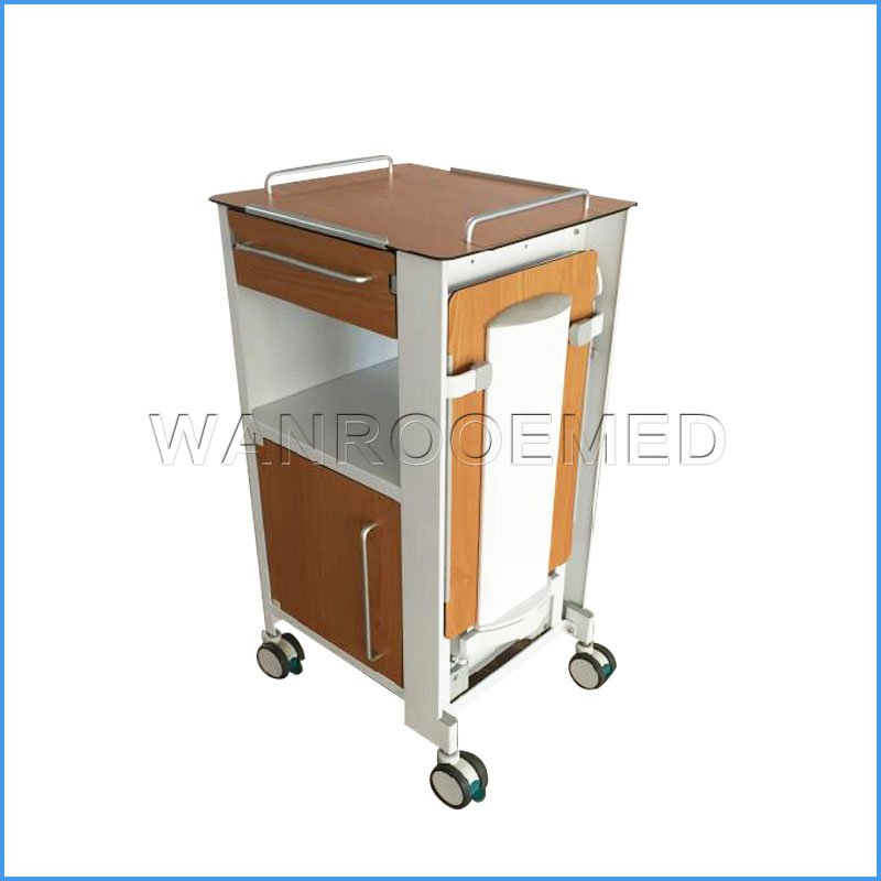 BC010F Adjustable Hospital ABS Bedstand Beside Cabinet Beside Locker