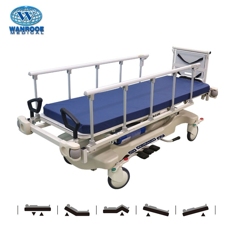 BD111BD Hospital Medical Hydraulic Patient Transfer Ambulance Stretcher