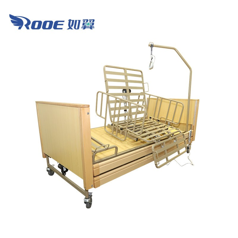 BAE5093 Medical Home Care Bed Electric Roating Homecare Bed