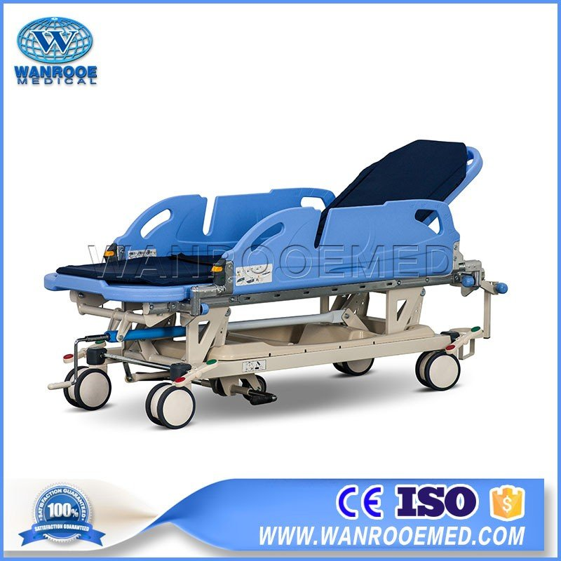 BD111-3 Medical Manual Cart Multi-functional Transfer Stretcher