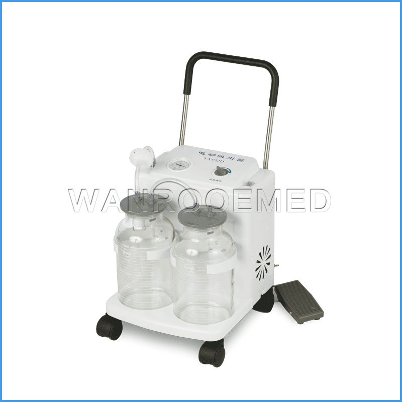 YX932D Medical Mobile Electric Suction Apparatus Suction Machine