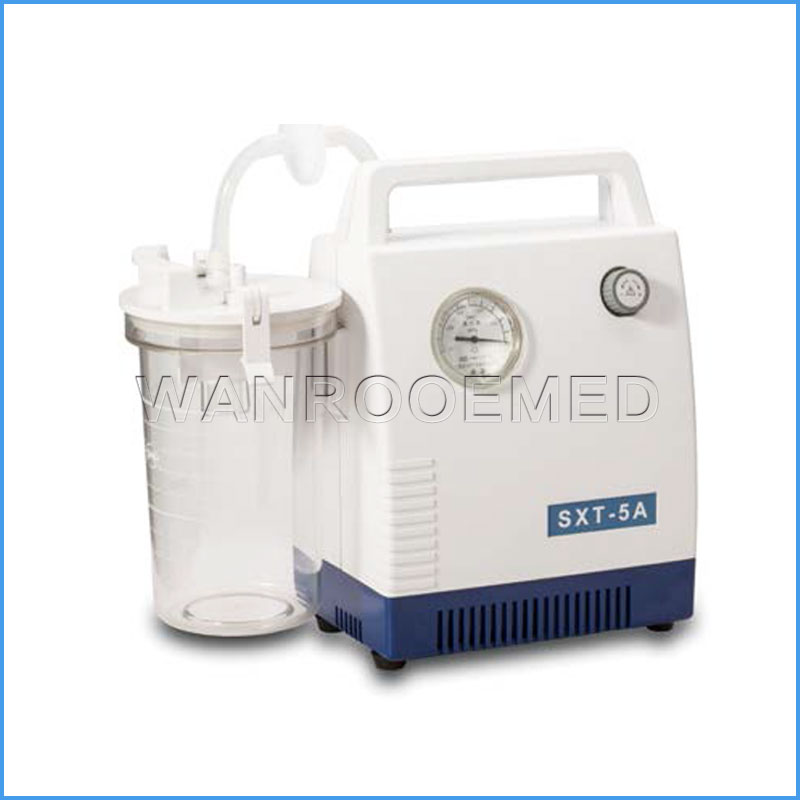 SXT-5A Hospital Medical Portable Electric Emergency Vacuum Adult Suction Machine
