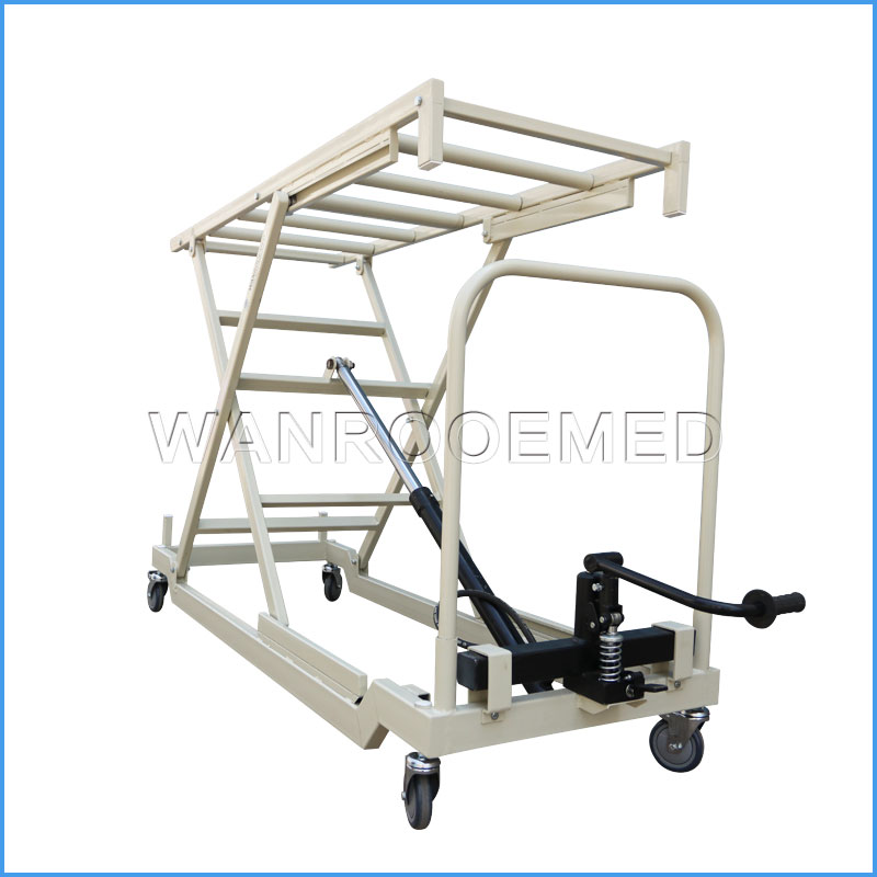GA500 Medical Adjustable Hydraulic Mortuary Body Lifter