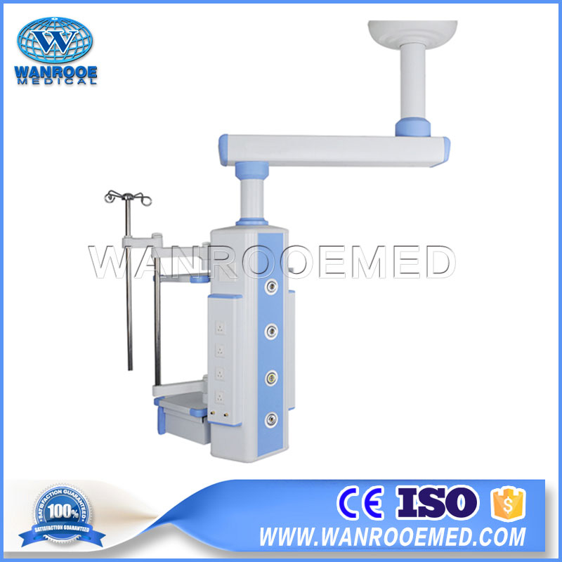 AOT-DT-360M Hospital Ceiling Aluminum Alloy Single Arm Medical Gas Mechanical Surgical Pendant