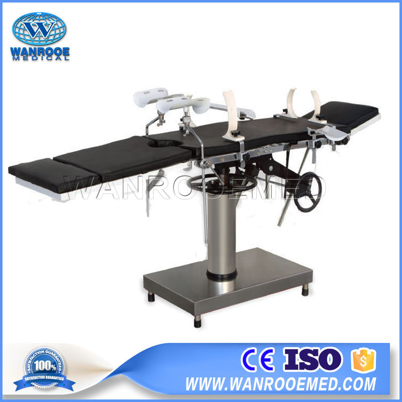 AOT101S Hospital Simple Surgical Manual Operating Table With Cheap Price