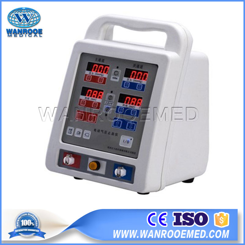 ATS-102 Medical Portable Surgical Double Channel Automatic Pneumatic Tourniquet System