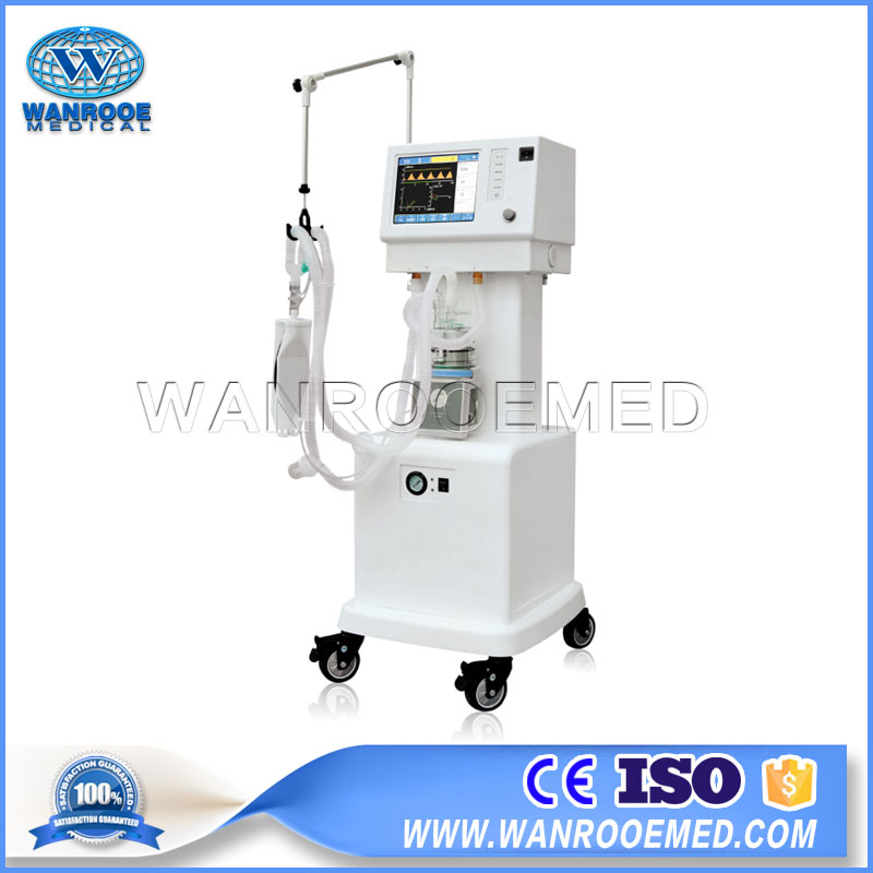 AV-2000B3 Medical Electric Portable Coronavirus Patient ICU Ventilator With Air Compressor