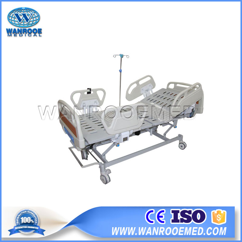 BAE314 Hospital Three Function Electric Medical Bed With Nurse Controller