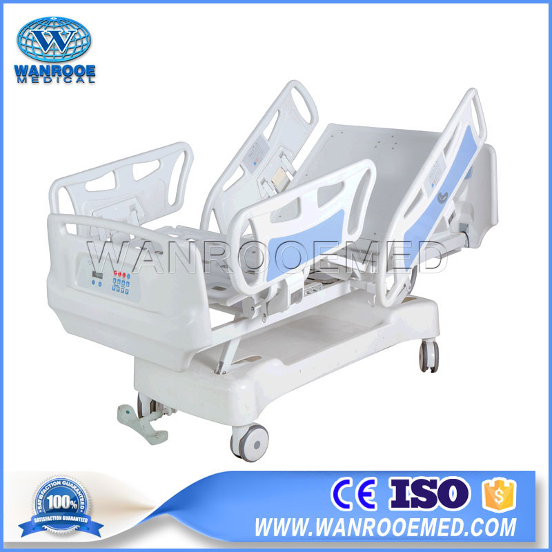BAE503 Medical Patient Bed 5 Functions ICU Patient Care Electric Hospital Bed