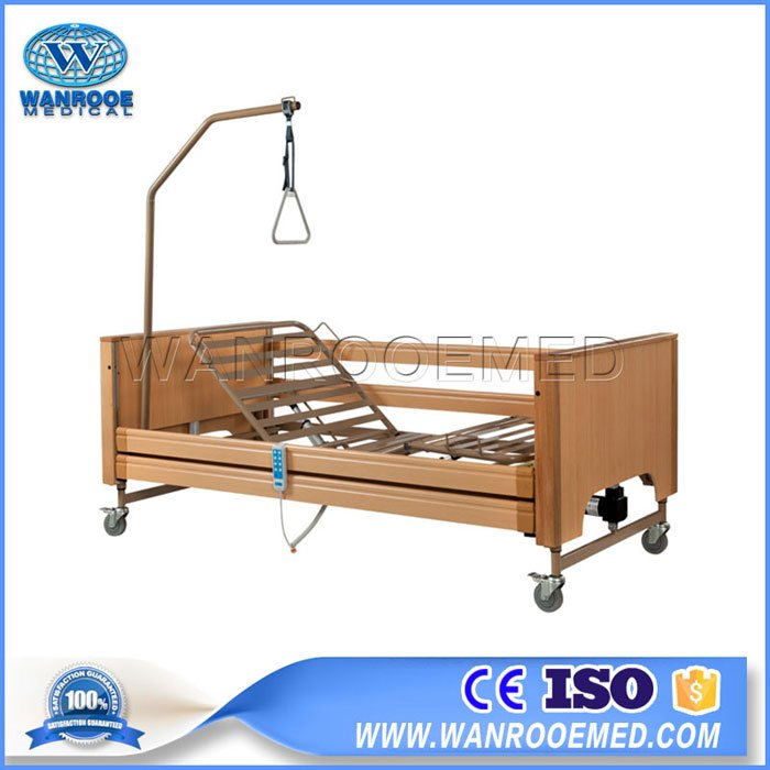 BAE509 Full Electric Patient Nurse Bed Long Term Home Care Hospital Bed