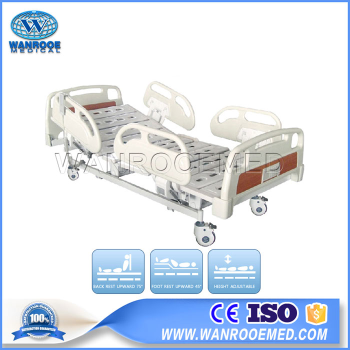 BAE510/BAE510C Electric 5 Functions Medical ICU Patient Bed Full Electric ICU Bed