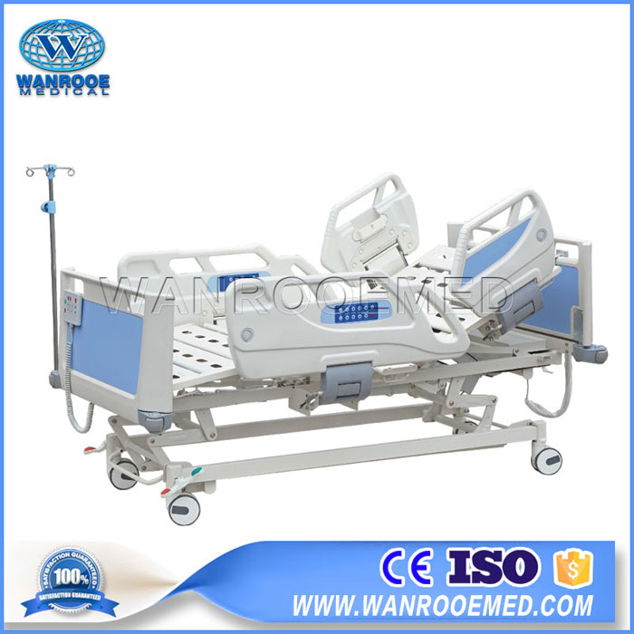 BAE521EC Luxurious 5 Function Hospital Electric ICU Bed With 4 Linak Motor