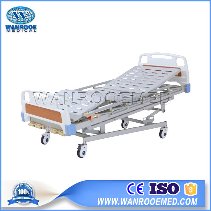 BAM500 Medical 4 Cranks Manual Hospital Patient Bed