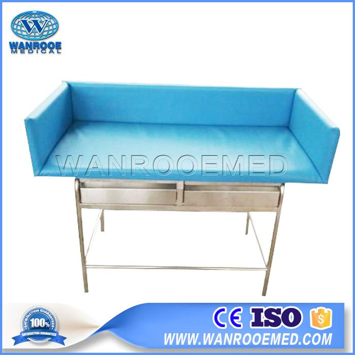BBC008A Hospital Steel Frame Baby Infant Changing Table Children Care Infant Bed