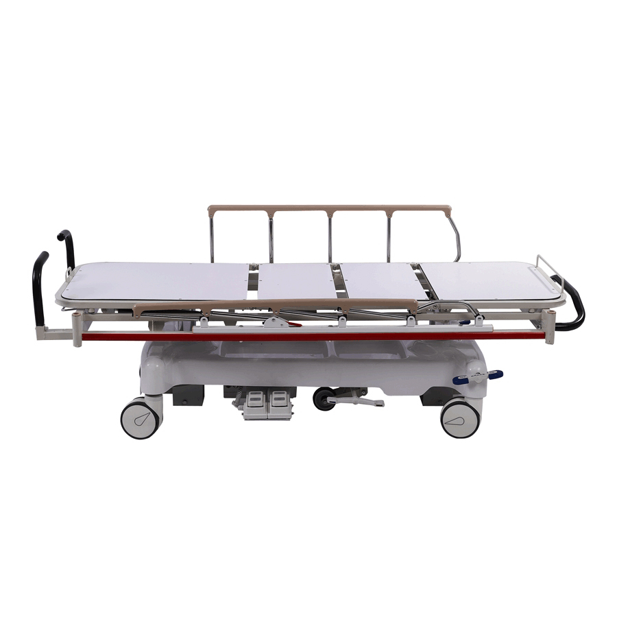 BD7C Hospital Emergency Patient Transport Trolley Rescue Stretcher