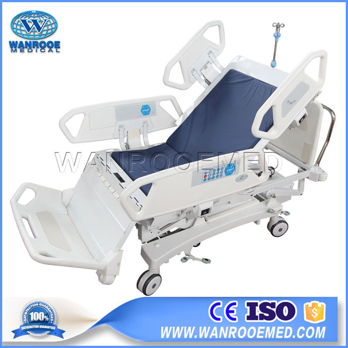 BIC800 Adjustable 8 Function Electric ICU Hospital Chair Bed