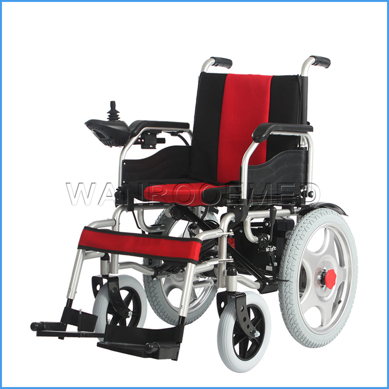 BWHE1801 Strong Climbing Ability Electric Wheelchair For The Disabled