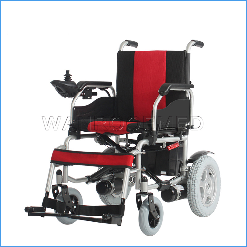 BWHE501 Medical Devices Handicapped Aluminium Power Electric Wheelchair