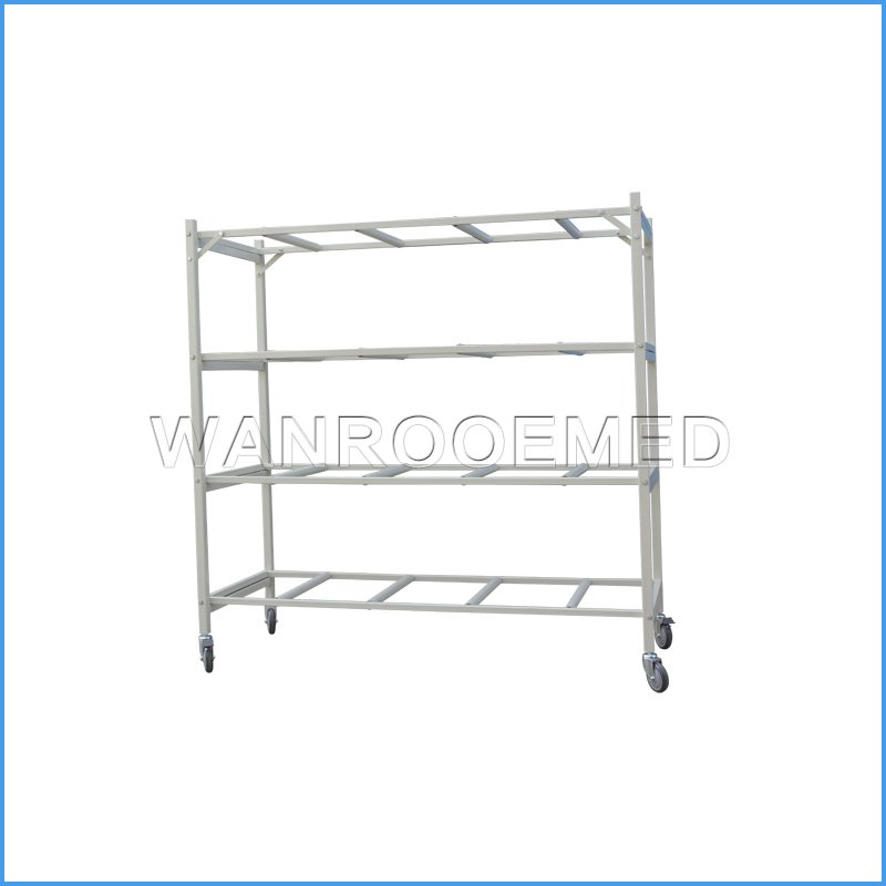 GA503-4 Mortuary Fridge Racking (4 tiers)