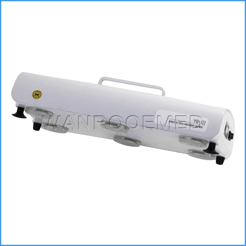 HBYG-III Hospital Neonate Bilirubin Phototherapy Equipment Lamp