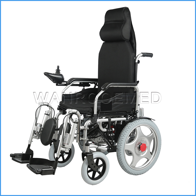 BWHE1803 Aluminum Alloy Folding Power Electric Wheelchair