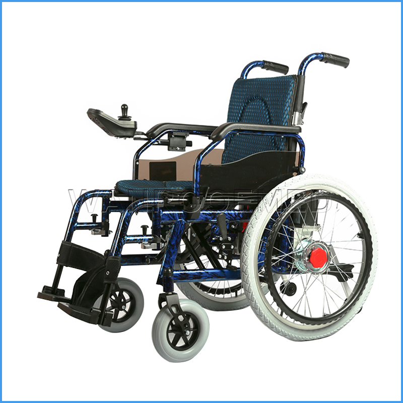BWHE503 Medical Used Portable Lightweight Folding Electric Wheelchair