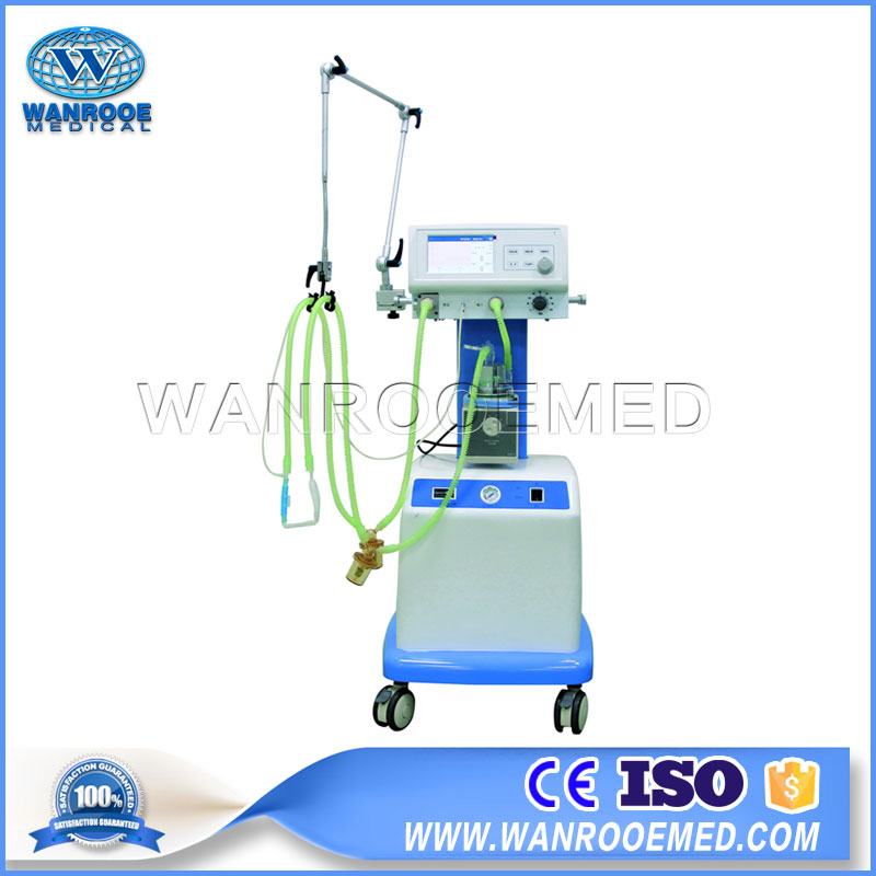 NLF-200A Medical Portable ICU Neonatal CPAP System Ventilator Machine
