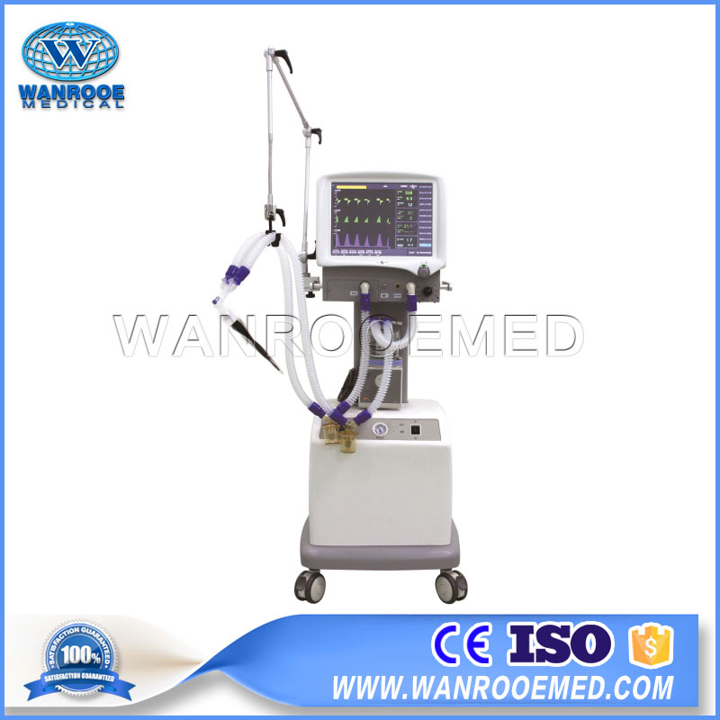 S1200 Medical Portable Ventilator ICU Ventilator Machine for Infant and Adult