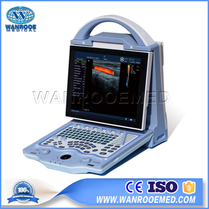 USDCU12 Full Digital Laptop Ultrasound Veterinary Color Doppler Ultrasound Machine For Animal