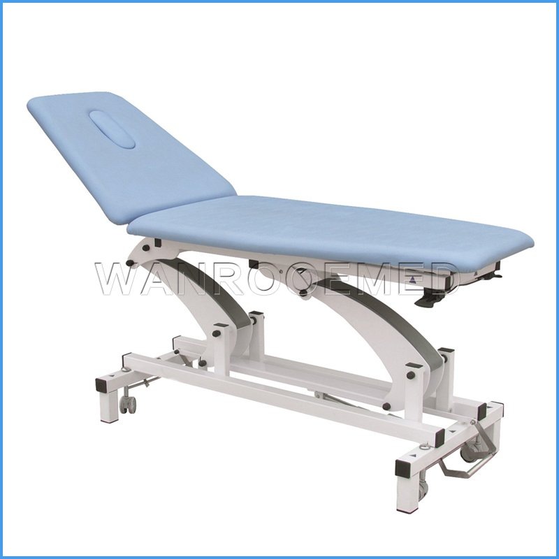 DE-2 New Medical Adjustable Electric Massage Treatment Bed Treatment Table