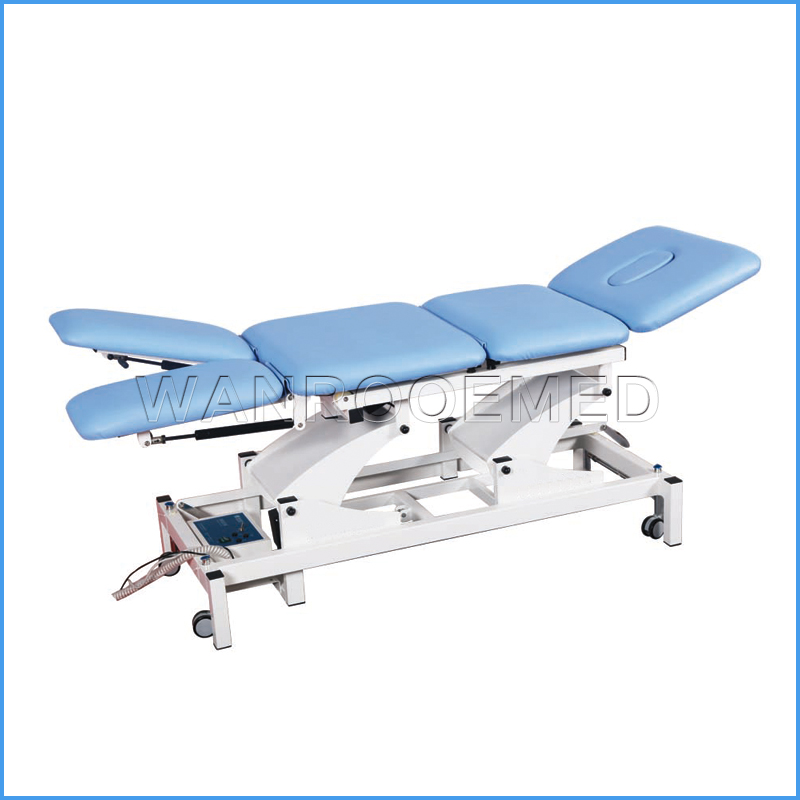 DE-5 CE&ISO Approved Comfortable Hospital Physical Treatment Electric Medical Therapy Table