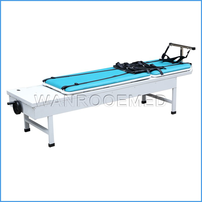 DA-12C Hand-operated Cervical And Lumbar Traction Bed
