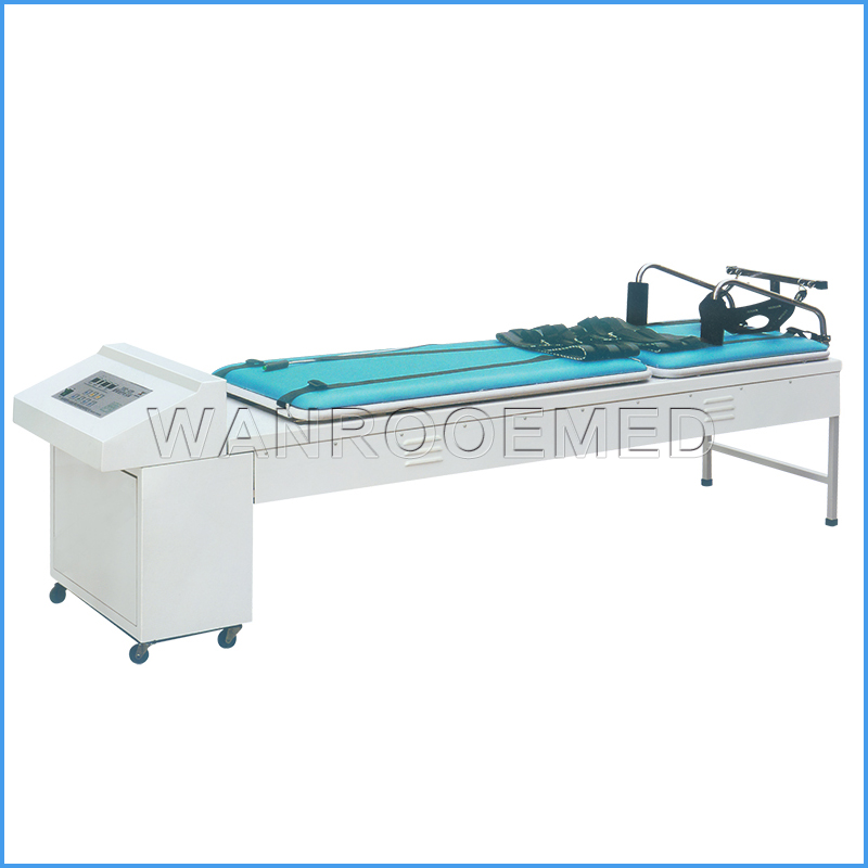 DA-12D Medical Cervical and Lumbar Traction Bed Hospial Traction Table