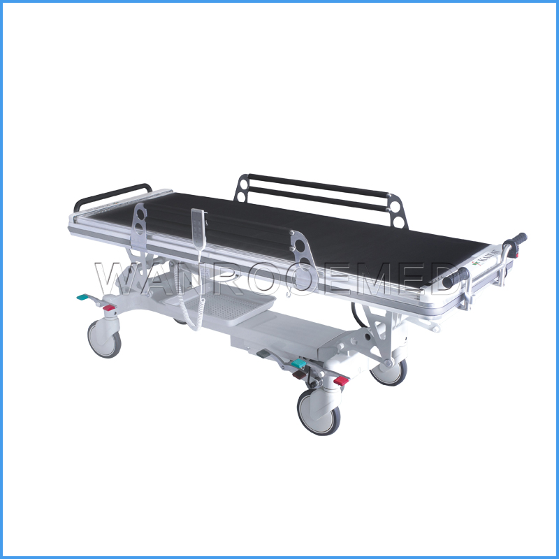 BD26C3 Hospital Transfer Cart Medical Electric Patient Transport Trolley