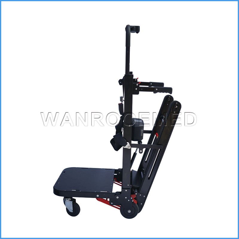 EA-7FPN Electric Motorized Tracked Type Portable Stair Climbing Trolley Cart