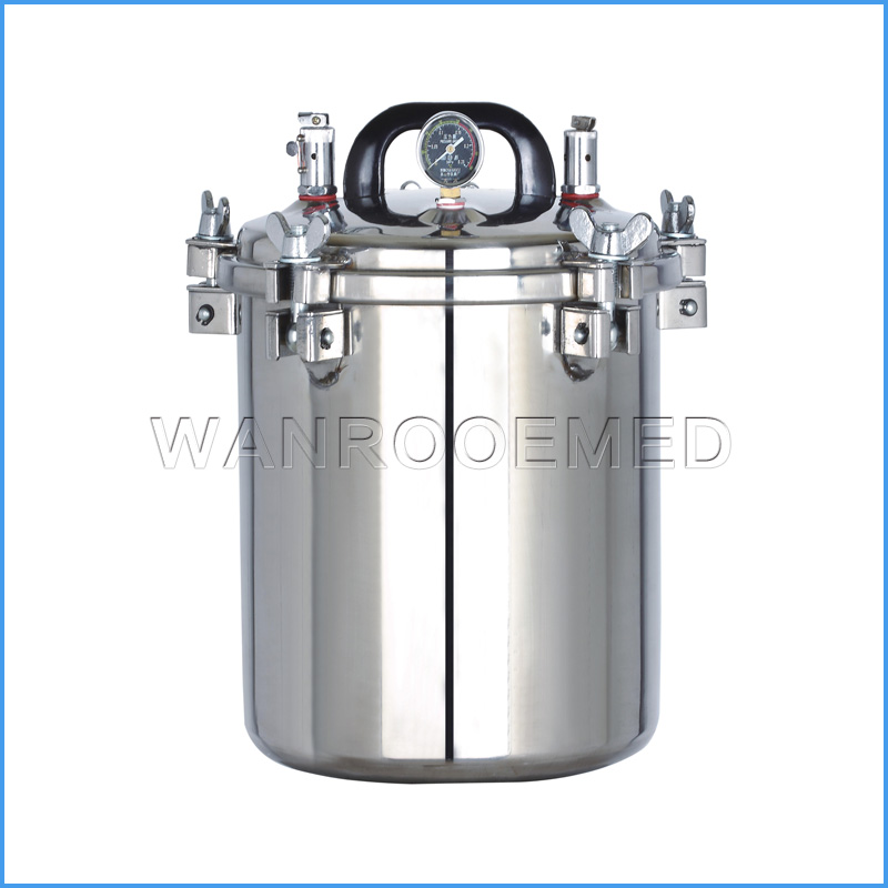 YX-12LM Electric Or LPG Heated Portable Pressure Steam Sterilizer