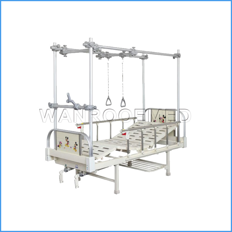 BAM200G Medical Traction Orthopedic Hospital Bed For Children
