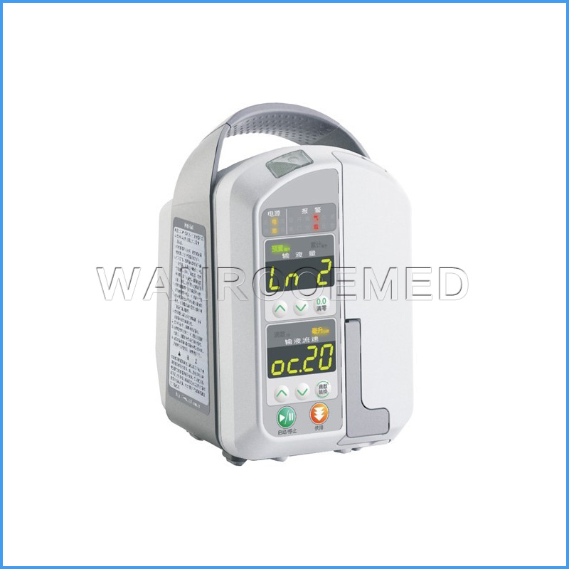 WRIP-XA Hospital Medical Equipment Clinic IV Infusion Pump With Simplified Keypad