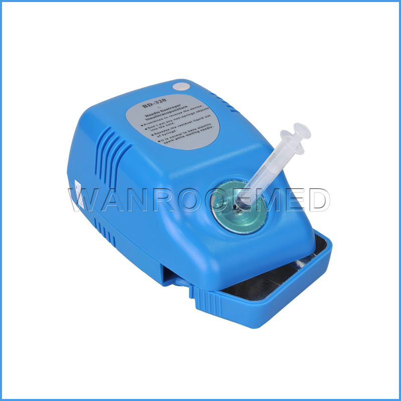 BSD-320 Portable OEM Available Electric Medical Needle Syringe Destroyer Needle Burner