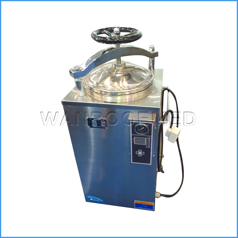 LS-35HD/50HD/75HD/100HD Portable Vertical High Capacity Pressure Steam Sterilizer