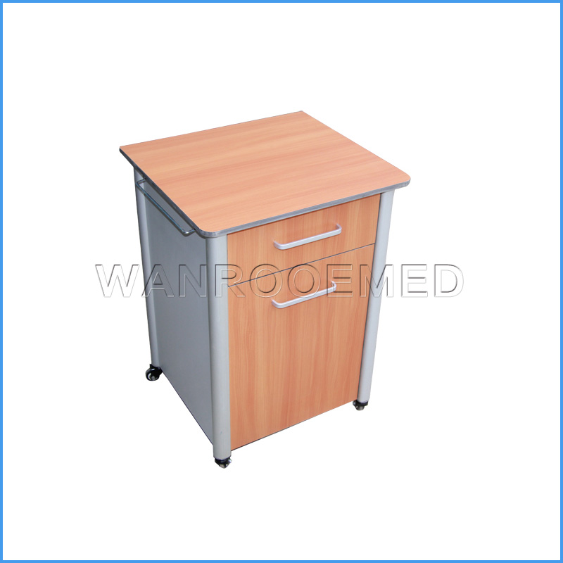 BC010A Medical Hospital Clinic Bedside Cabinet Beside Locker For Patients