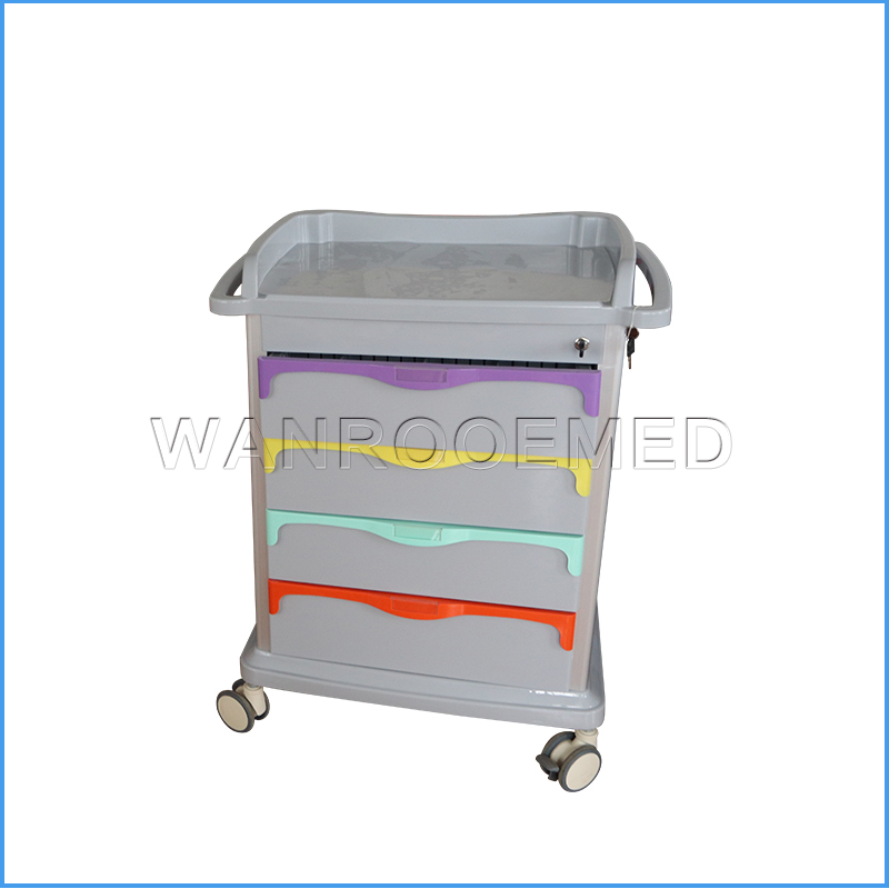 BET-86 Series Hospital Medical Surgery Patient Cart Emergency Trolley