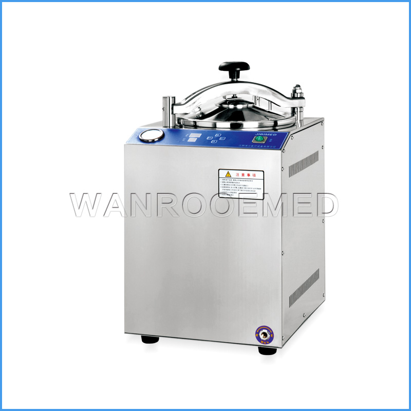 LS-28HD Stainless Steel Autoclave Vertical Sterilization Equipment With Pressure Temperature Controller